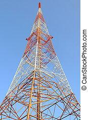 radio, tower., antenna