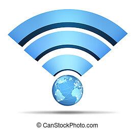 radio, vernetzung, symbol