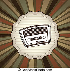 radio, vieux