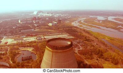 Radioactive contaminated environment, Chernobyl - Chernobyl...