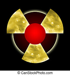 Radioactive Pollution - Atomic dust inside radioactive ...