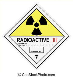Radioactive Warning Label - United States Department of ...