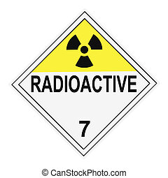 Radioactive Warning Placard - United States Department of ...