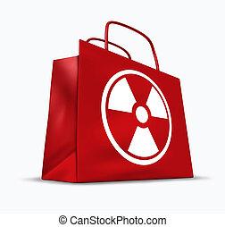 radioactivo, productos