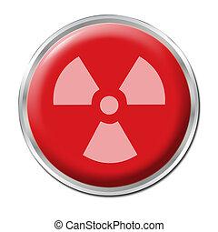 radioativo, botão