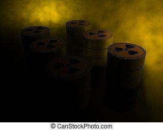 radioattivo, reattore