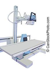 radiografía, aparato