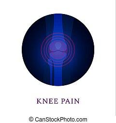 radiografía, ortho, coyuntura, médico, plantilla, rodilla
