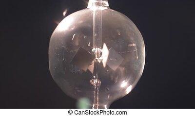 radiomètre, crookes, radiant, lumière, mesurer, intensité, moulin, énergie
