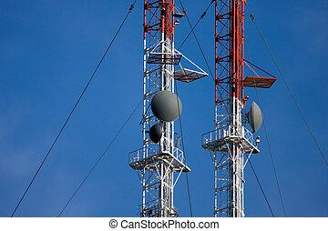 Radio/TV Communication Tower