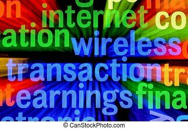 radiowy, transakcja, zarobek
