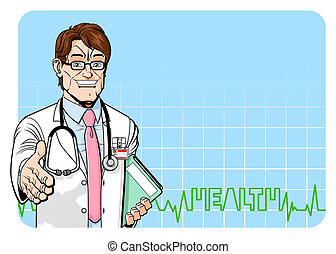 radosny, doktor