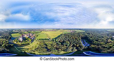 raesfeld, château, historique, allemagne, westphalie
