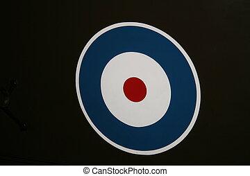 RAF Roundel - RAF WW2 Roundel Insignia