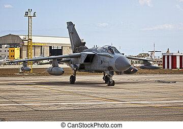 RAF Tornado - LUQA, MALTA - 25 SEP - RAF Tornado during the...