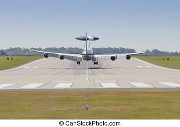Boeing E3-D Sentry - RAF WADDINGTON 19 JULY UK: Royal Air...