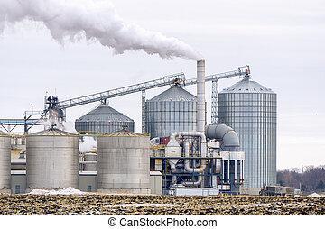 raffinaderi, amerikan, etanol