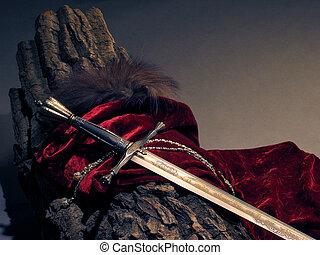 raffineret, sværd