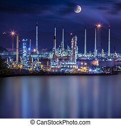 raffineria, pianta industriale