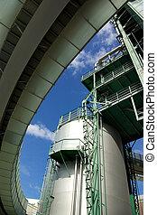raffinerie, détail