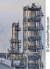raffinerie, huile