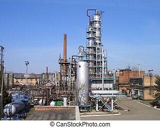 raffinerie, pétrole
