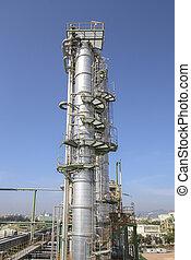 raffinerie, plante