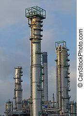 raffinerie, tours