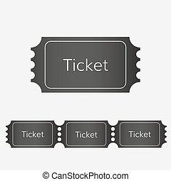 raffle ticket icon vector cinema ticket  event ticket