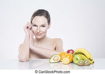 rafraîchissant, avoir, peau, affect, mon, vitamines
