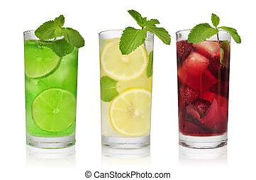 rafraîchissant, boissons