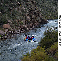 Rafting Through the Gorge - Rafting Through Royal Gorge in ...