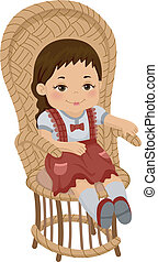 Rag Doll Chair
