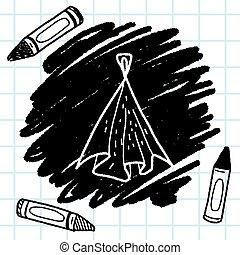 Rag doodle