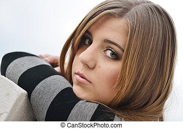ragazza adolescente