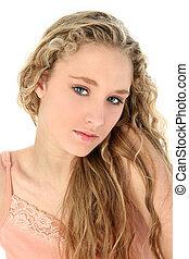 ragazza adolescente, bellezza