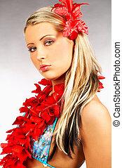 ragazza, hawai
