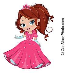ragazza, principessa