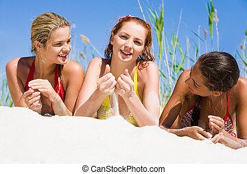 ragazze, tre