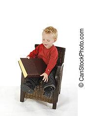 ragazzo, poco, lettura