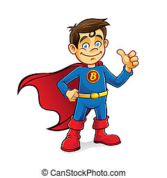 ragazzo, superhero
