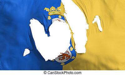 Ragged Santiago city flag - Ragged Santiago city, capital of...