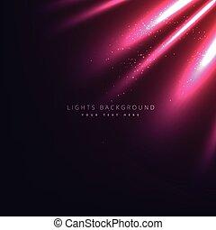 raggi luminosi, fondo