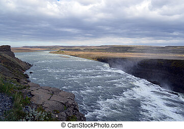 Ragging river - Photo of a ragging river in Iceland