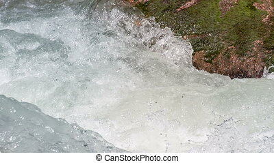 Raging River Flows - Wildness of clean, clear water in the...