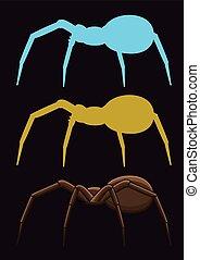 ragni, strisciante