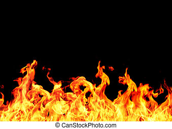 rahmen, flamme