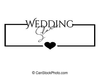 Rahmen, Wedding, Herz - rahmen, wedding, herz