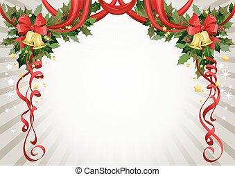 text rahmen b nder weihnachten gold dekorativ gold. Black Bedroom Furniture Sets. Home Design Ideas