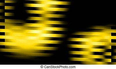 raie, fond, jaune